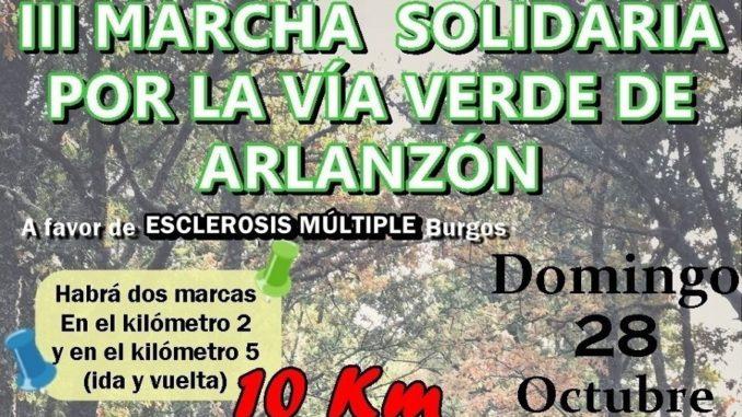LaAsociación de Familiares y Afectados de Esclerosis Múltiple (AFAEM) celebrado el domingo 28 de octubre (10.30 horas) la que será su Tercera edición de laMarcha solidaria por la Vía Verde de Arlanzón, y en la que se vuelca esta pequeña localidad.