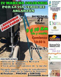 IV Marcha solidaria por la Vía Verde de Arlanzón