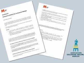 Comunicado AFAEM Burgos Coronavirus (COVID-19) y Esclerosis Múltiple